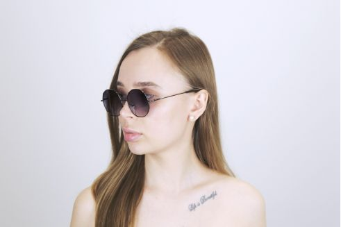 Женские классические очки 7039-black-W